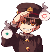 Toilet-bound Hanako-kun Voice Stickers Sticker for LINE & WhatsApp | ZIP: GIF & PNG