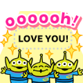 Toy Story 4 Message Stickers Sticker for LINE & WhatsApp | ZIP: GIF & PNG