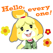 Animal Crossing Sticker for LINE & WhatsApp | ZIP: GIF & PNG