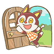 Animal Crossing 15th Anniversary Sticker Sticker for LINE & WhatsApp | ZIP: GIF & PNG