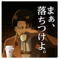 Attack on Titan Stickers for 7‐ELEVEn A