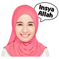 Bella Shares Stories Sticker for LINE & WhatsApp | ZIP: GIF & PNG