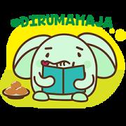 Berbagi Bersama Meyo Sticker for LINE & WhatsApp | ZIP: GIF & PNG