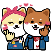 Boa is so happy to have Nini here! Sticker for LINE & WhatsApp | ZIP: GIF & PNG