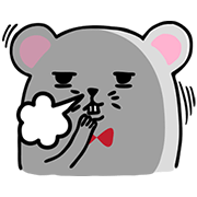 Buy123 TW × GIGI Mouse Sticker for LINE & WhatsApp | ZIP: GIF & PNG