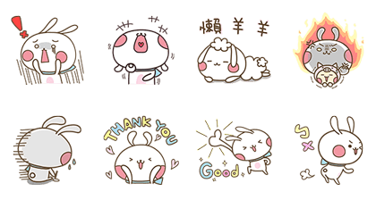 Buy123 x toobe Line Sticker GIF & PNG Pack: Animated & Transparent No Background | WhatsApp Sticker