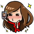 Captain AA & Nong Air: Welcome On Board Sticker for LINE & WhatsApp | ZIP: GIF & PNG