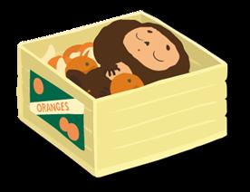 Cheburashka Sticker for LINE & WhatsApp | ZIP: GIF & PNG