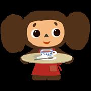 Cheburashka: Animated Stickers Sticker for LINE & WhatsApp | ZIP: GIF & PNG