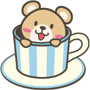 Checkuma Toyota Home Sticker for LINE & WhatsApp | ZIP: GIF & PNG