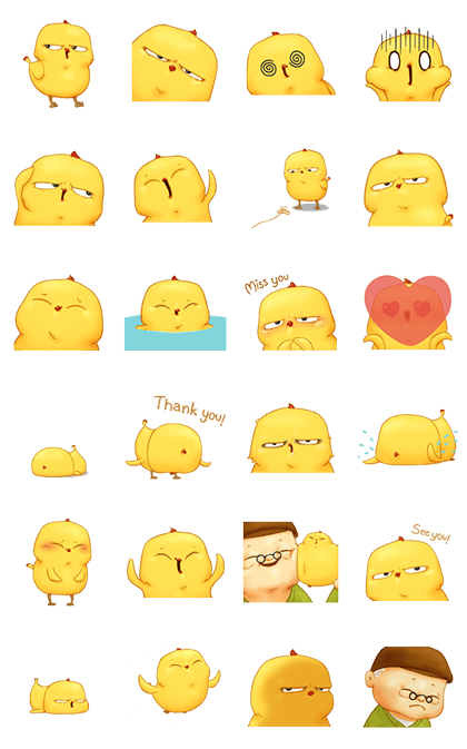 Cheez...z: Warbie & Yama 3 (100 coins) Line Sticker GIF & PNG Pack: Animated & Transparent No Background | WhatsApp Sticker