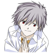 Demanding Stickers incl. Evangelion too! Sticker for LINE & WhatsApp | ZIP: GIF & PNG