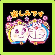 Doraemon Friendly Greetings Sticker for LINE & WhatsApp | ZIP: GIF & PNG