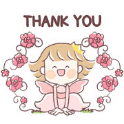 Fairy Princess Sticker for LINE & WhatsApp | ZIP: GIF & PNG