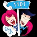 Giffarine 1101 Sticker for LINE & WhatsApp | ZIP: GIF & PNG