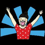 Happy Mingalaba Sticker for LINE & WhatsApp | ZIP: GIF & PNG
