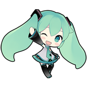 Hatsune Miku Sticker for LINE & WhatsApp | ZIP: GIF & PNG