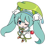 Hatsune Miku SNOW MIKU Collection Sticker for LINE & WhatsApp | ZIP: GIF & PNG
