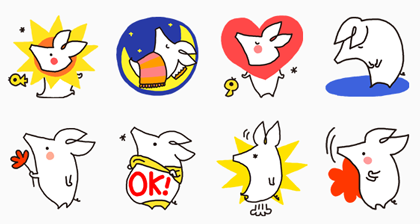 JOBOOB! - 555 Line Sticker GIF & PNG Pack: Animated & Transparent No Background | WhatsApp Sticker