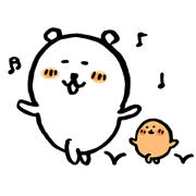 Joke Bear Keeps Moving 3 Sticker for LINE & WhatsApp | ZIP: GIF & PNG