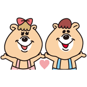 KUMATAN Sticker for LINE & WhatsApp | ZIP: GIF & PNG