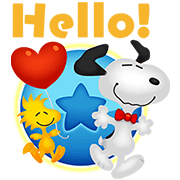 LINE BUBBLE 2 + SNOOPY Sticker for LINE & WhatsApp | ZIP: GIF & PNG