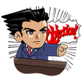 LINE Rangers × Ace Attorney