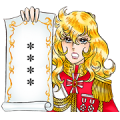 La Rose de Versailles Custom Stickers Sticker for LINE & WhatsApp | ZIP: GIF & PNG