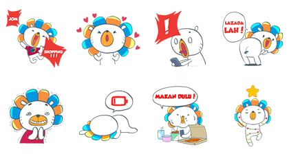Laz's Online Revolution Line Sticker GIF & PNG Pack: Animated & Transparent No Background | WhatsApp Sticker