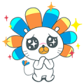 Laz Cuteness Overload Sticker for LINE & WhatsApp | ZIP: GIF & PNG