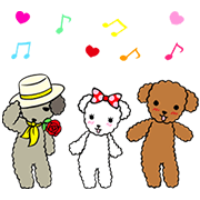 Moving Wancl & Friends Sticker for LINE & WhatsApp | ZIP: GIF & PNG