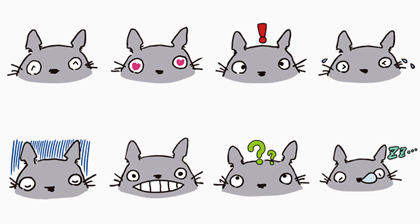 My Neighbor Totoro (FREE ver.) Line Sticker GIF & PNG Pack: Animated & Transparent No Background   WhatsApp Sticker