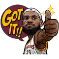 NBA Active Players Sticker for LINE & WhatsApp | ZIP: GIF & PNG