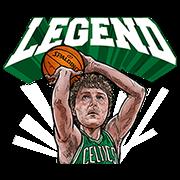 NBA Legends Sticker for LINE & WhatsApp | ZIP: GIF & PNG