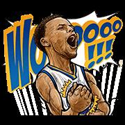 NBA Superstars Sticker for LINE & WhatsApp | ZIP: GIF & PNG