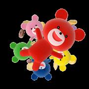 Petit Kuma Animated Stickers Sticker for LINE & WhatsApp | ZIP: GIF & PNG
