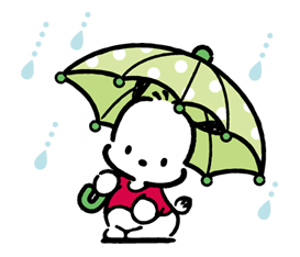 Pochacco Sticker for LINE & WhatsApp | ZIP: GIF & PNG