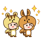 Rick and Sue Sticker for LINE & WhatsApp | ZIP: GIF & PNG