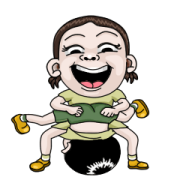 Sister and Brother Sticker for LINE & WhatsApp | ZIP: GIF & PNG
