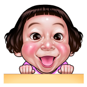 Smiling face Collection Sticker for LINE & WhatsApp | ZIP: GIF & PNG