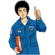 Space Brothers 2 Sticker for LINE & WhatsApp | ZIP: GIF & PNG