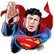 Superman Sticker for LINE & WhatsApp | ZIP: GIF & PNG