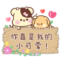 Sweet House Chini Message Stickers