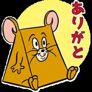 Tom & Jerry TENKOMORI Stickers Sticker for LINE & WhatsApp | ZIP: GIF & PNG