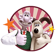 Wallace & Gromit Sticker for LINE & WhatsApp | ZIP: GIF & PNG