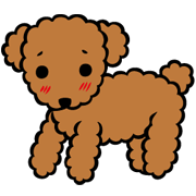 Wancl the Dog Sticker for LINE & WhatsApp | ZIP: GIF & PNG
