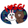 We Love SG50! Sticker for LINE & WhatsApp | ZIP: GIF & PNG