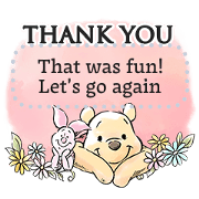 Winnie the Pooh Message Stickers Sticker for LINE & WhatsApp | ZIP: GIF & PNG