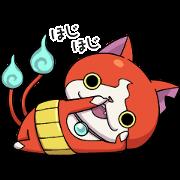 YO-KAI WATCH: 5th Anniversary Stickers Sticker for LINE & WhatsApp | ZIP: GIF & PNG