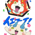 YO-KAI WATCH Animated Stickers Sticker for LINE & WhatsApp | ZIP: GIF & PNG